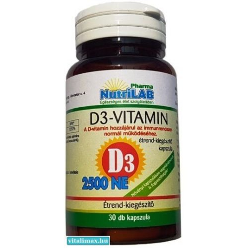 NutriLAB D3  - 30 db
