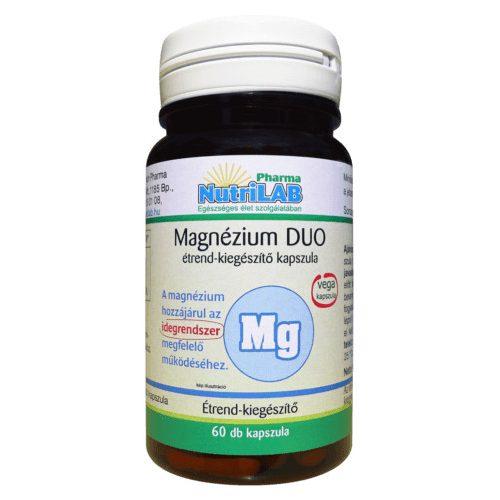 NutriLAB Magnézium DUO vega - 60 db