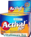 BÉRES Actival 50+ GINZENGGEL - 30 db