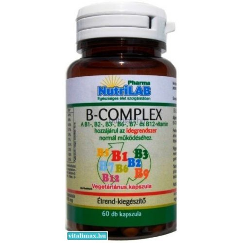 NutriLAB B-complex - 60 db