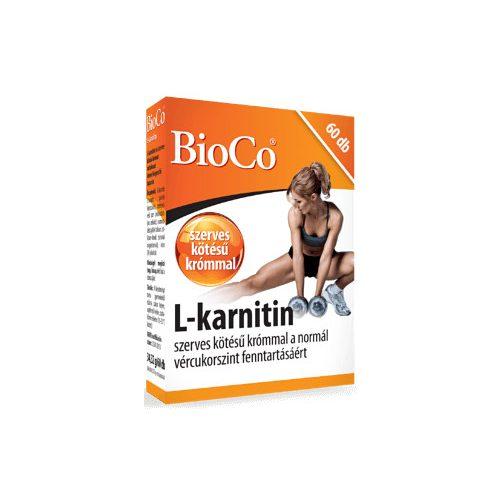 BioCo L-karnitin - 60 db