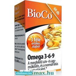 BioCo Omega 3-6-9 kapszula - 60 db