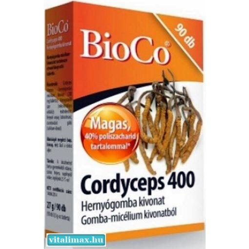 BioCo Cordyceps 400 Hernyógomba kivonat - 90 kapszula