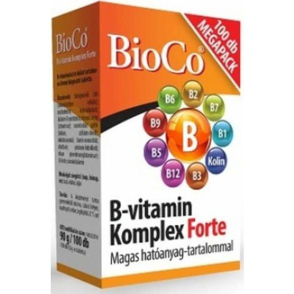 BioCo B-vitamin Komplex Forte - 100 tabletta