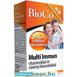 BioCo Multi Immun tabletta - 60 db