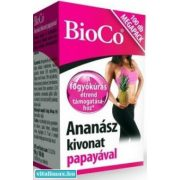 BioCo Ananász kivonat papayával - 100 db