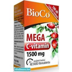 BioCo MEGA c-vitamin 1500 mg - 100 db