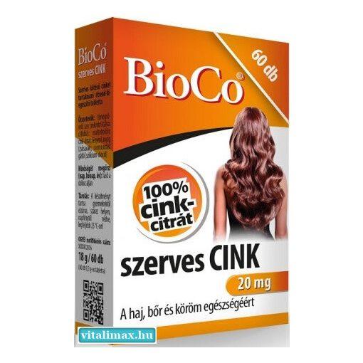 Bioco szerves CINK - 60 tabletta