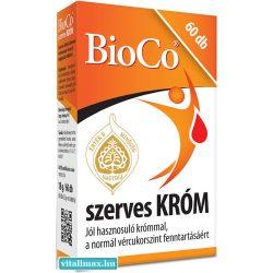 BioCo Szerves KRÓM - 60 db