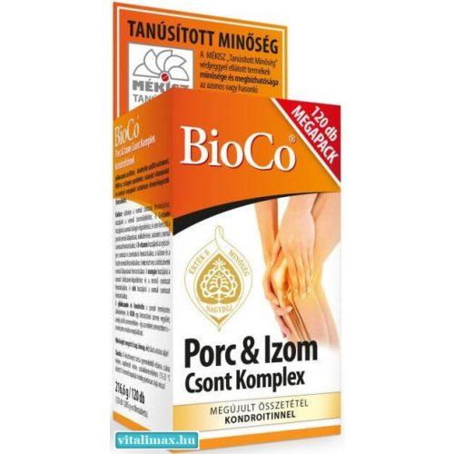 BioCo Porc Izom Csont Komplex MEGAPACK - 120 db