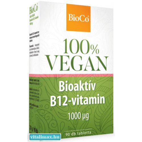 BIOCO VEGÁN BIOAKTÍV B12-VITAMIN – 90 db