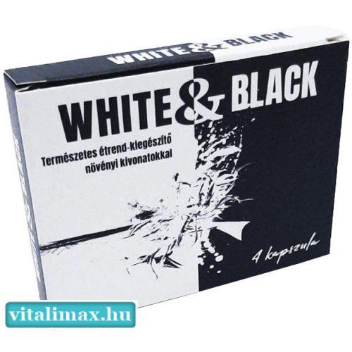 White & Black potencianövelő - 4db kapszula
