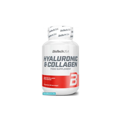 BioTech Hyaluronic Collagen - 30 kapszula