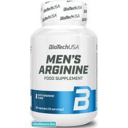 BioTech Mens Arginine - 90 db