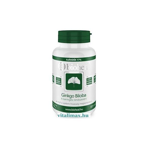 BIOHEAL Ginkgo Biloba 80 mg tabletta - 70 db