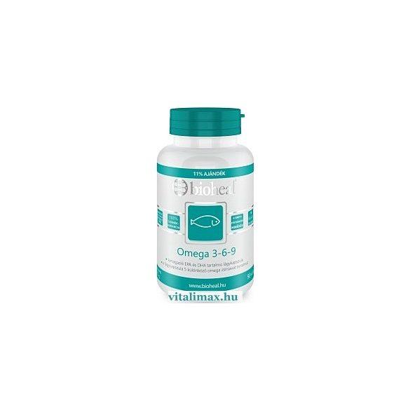 BIOHEAL Omega 3-6-9 kapszula 1000 mg - 100 db