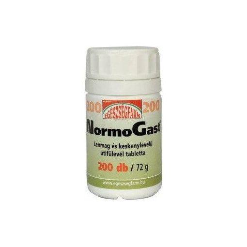 EGÉSZSÉGFARM NormoGast béltisztító tabletta - 200 db