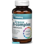 Vitaking STRESS B-complex tabletta - 60 db