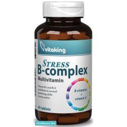Vitaking STRESS B-complex tabletta - 60 db