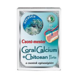 Dr. Chen Csont mester Coral Calcium + Chitosan - 80 db