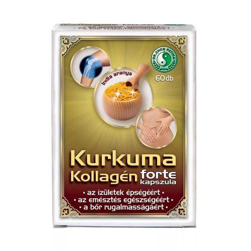 Dr. Chen Kurkuma Kollagén Forte - 60 kapszula