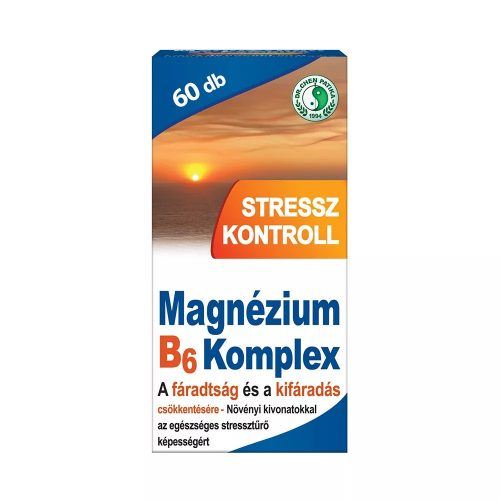DR. CHEN STRESSZ KONTROLL MAGNÉZIUM B6 - 60 tabletta
