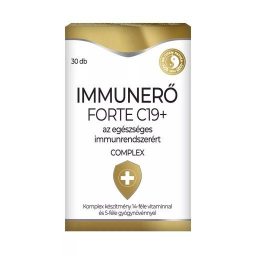 Dr. Chen Immunerő Forte C19 - 30 tabletta