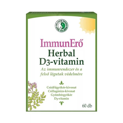 DR. CHEN IMMUN-HERBAL + D3-vitamin - 60 kapszula