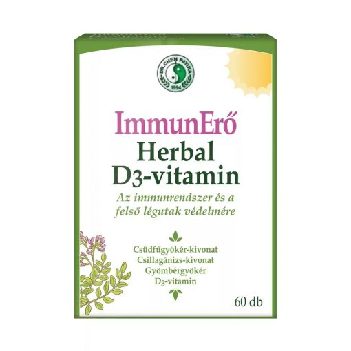 DR. CHEN IMMUN-HERBAL + D3-vitamin - 60 kapszula