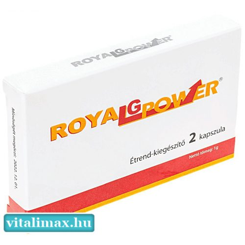 ROYAL G POWER potencianövelő - 2 db kapszula