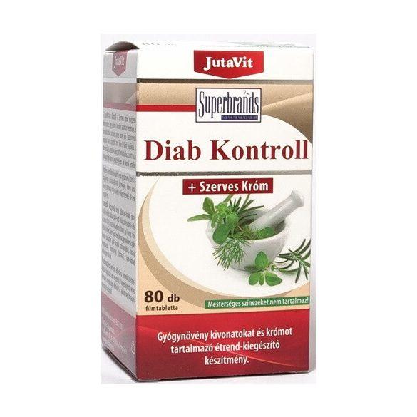 JutaVit Diab Kontroll tabletta - 80 db