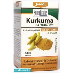 JutaVit Kurkuma - 60 db