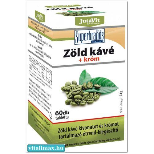 JutaVit Zöld kávé - 60 db