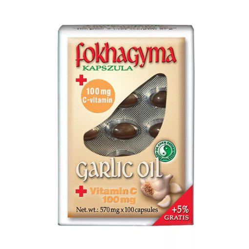 Dr. Chen Fokhagymaolaj C-vitaminnal - 100 db