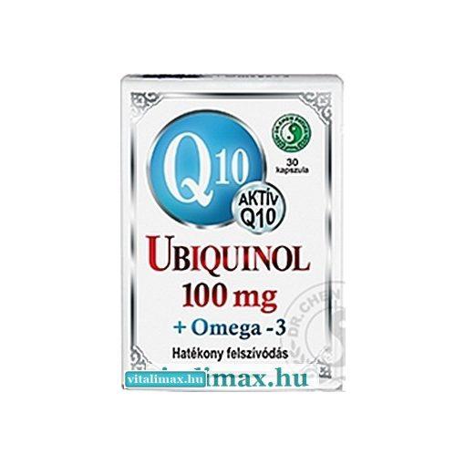 Dr. Chen Q10 Ubiquinol + Omega-3 - 30 db