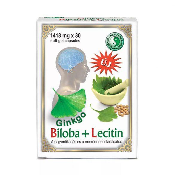 Dr. Chen Ginkgo Biloba + Lecitin - 30 db