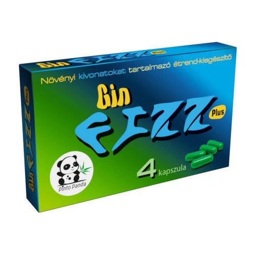 Gin FIZZ Plus potencianövelő - 4 db kapszula