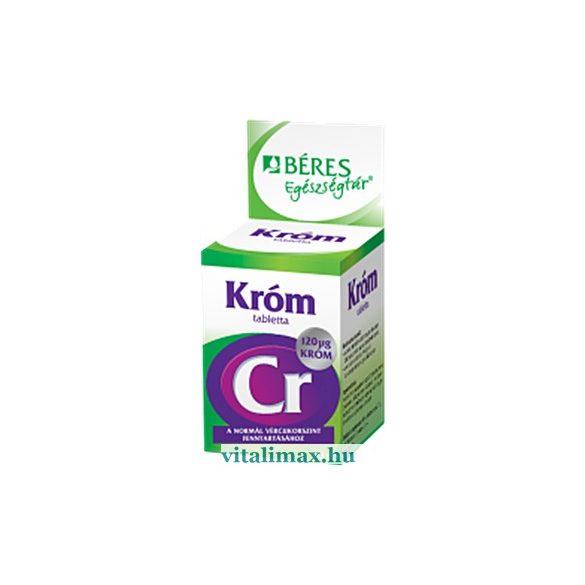 BÉRES Króm tabletta - 90 db
