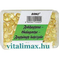 BANO Fokhagyma-Galagonya-Fagyöngy kapszula - 100 db