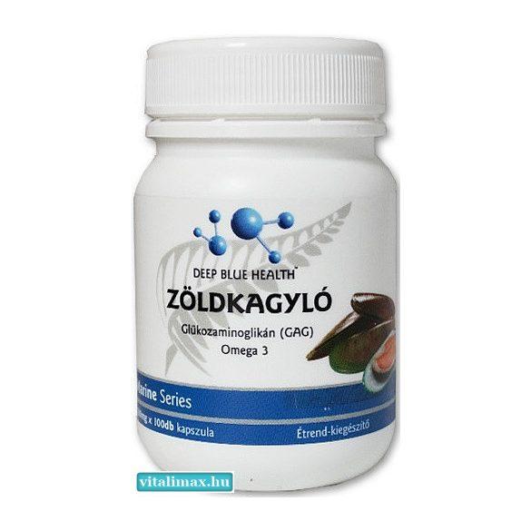 DBH Zöldkagyló Glükozamin kapszula - 100 db