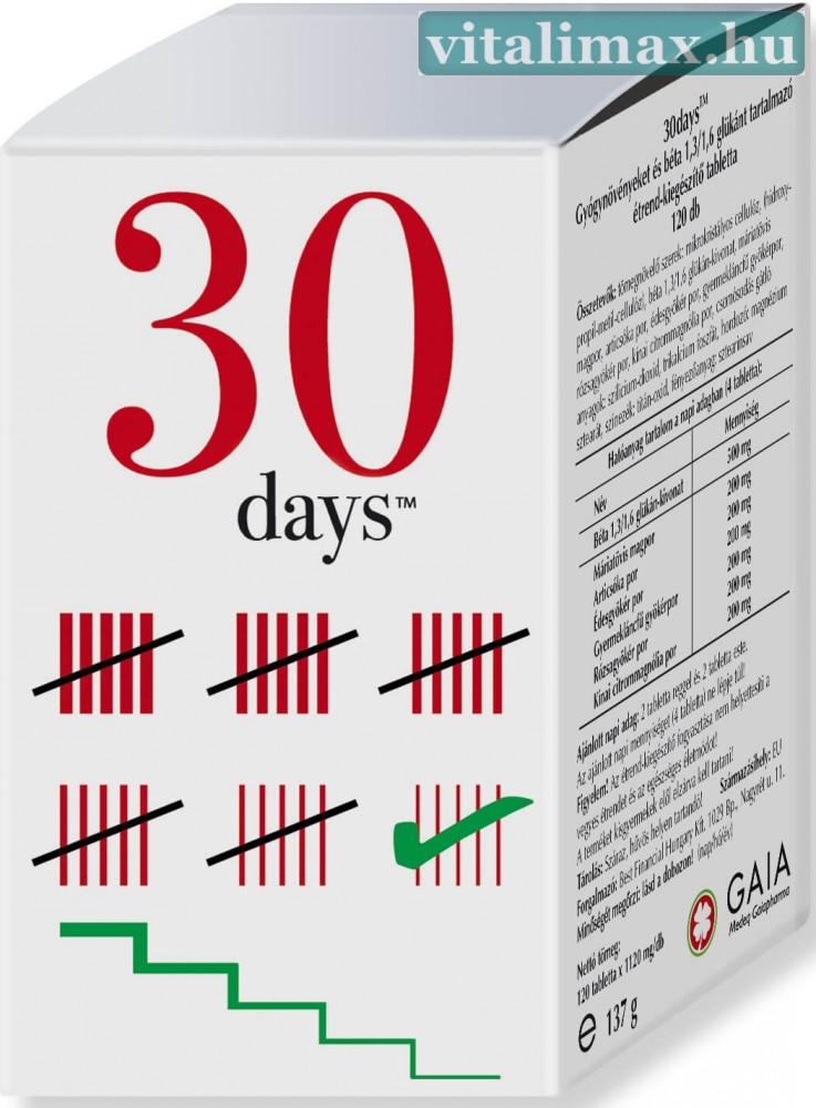 Image of 30 days tabletta - 120 db